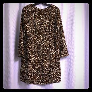NWT leopard print dress